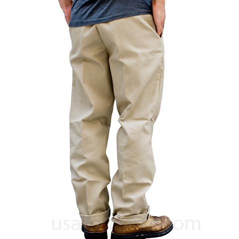 ディッキーズ874のサイズ感!サイズアップし腰履き・腰パンで履く