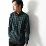 フランネルチェックシャツなら緑青のブラックウォッチ柄がおすすめ!