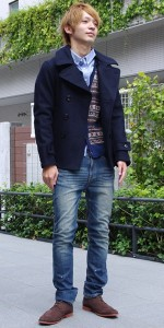 Pコート・ピーコートおすすめの着丈の長さ!ショート丈?ミドル丈?