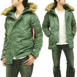 N-3Bジャケットはカーキ・オリーブ・グリーン・緑色がおすすめ!