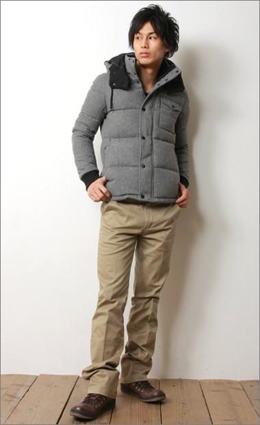 寒い真冬はおしゃれで暖かいアウター、ダウンジャケットがおすすめ!